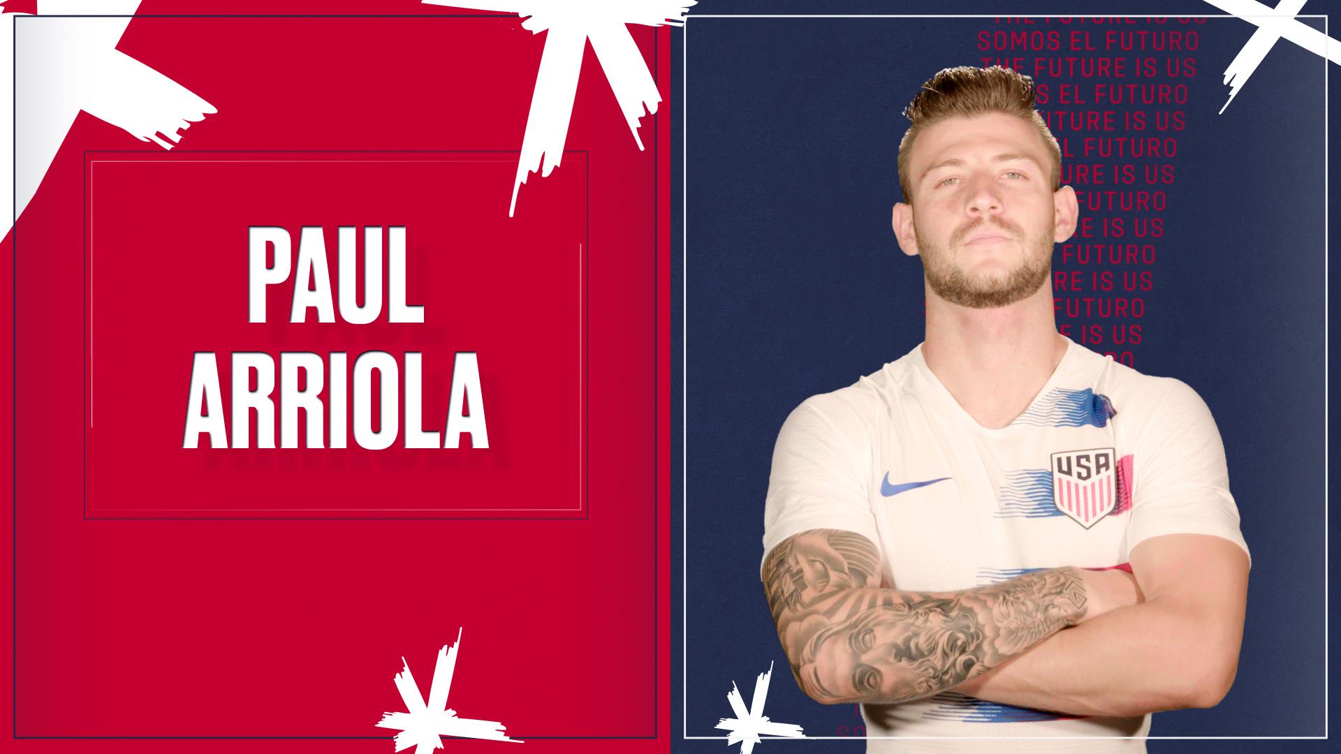US Soccer Men Played Paul Arriola